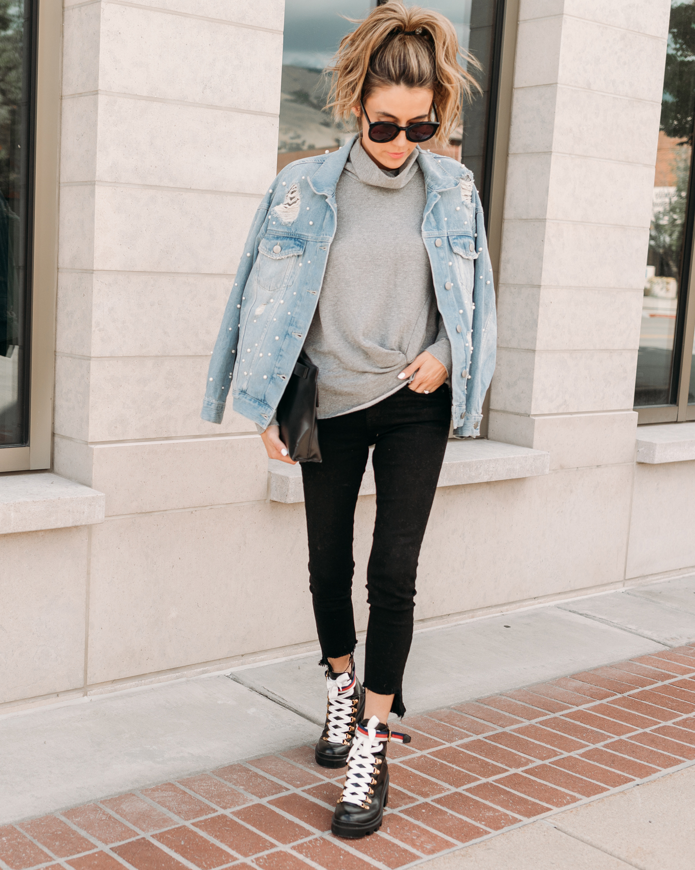 christine andrew denim jacket