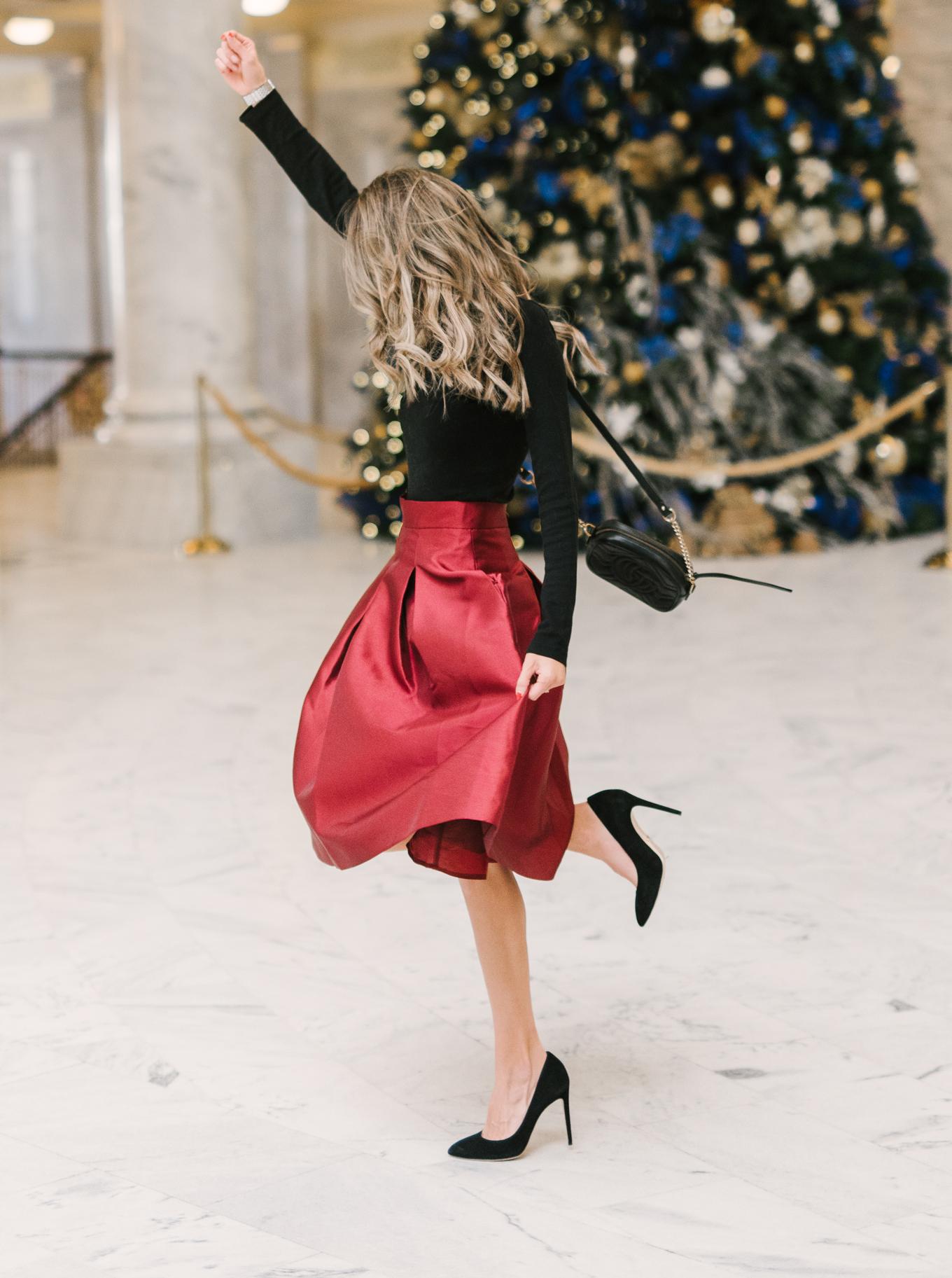 christmas time hello fashion blog