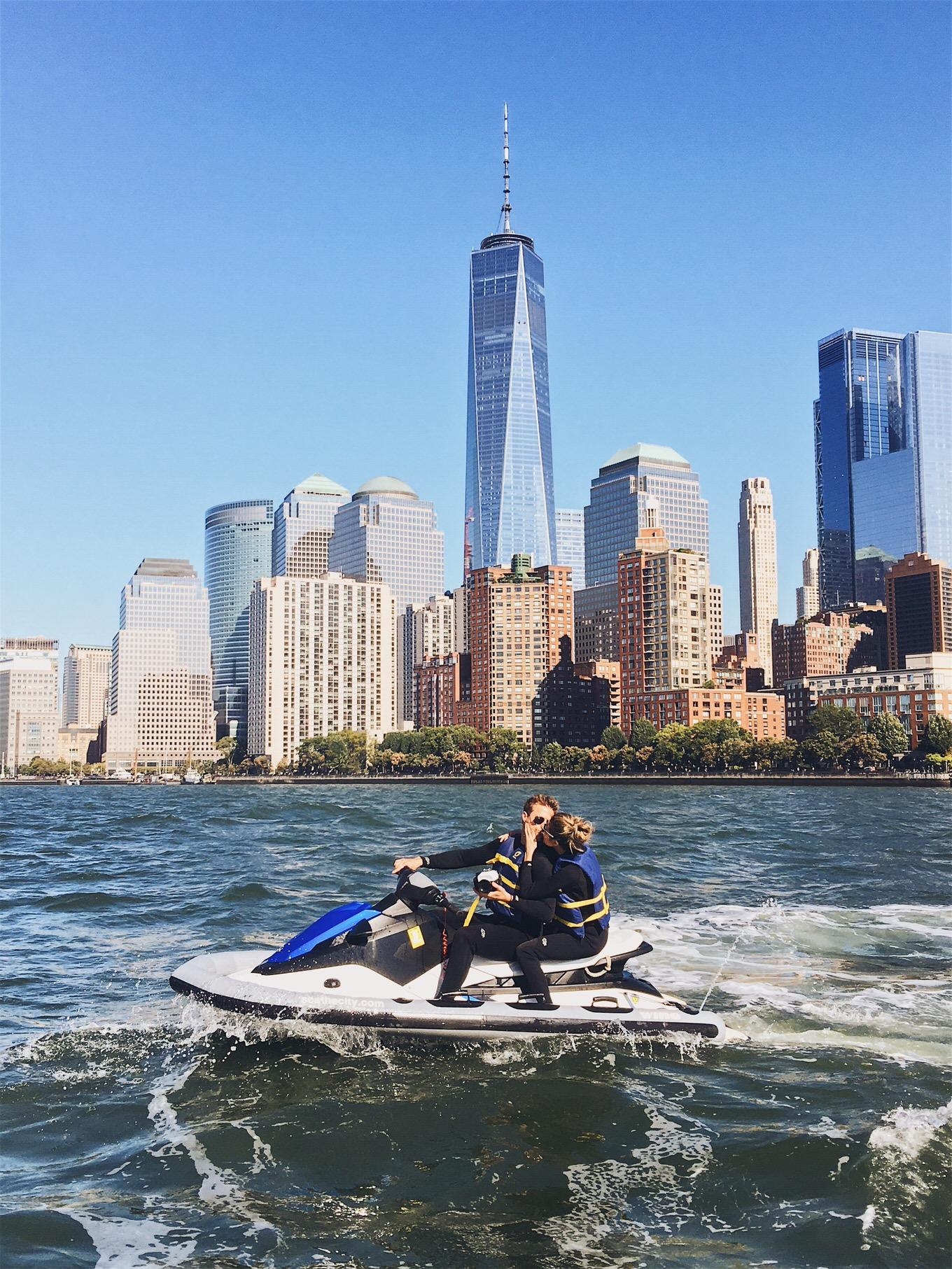 jet ski in NYC