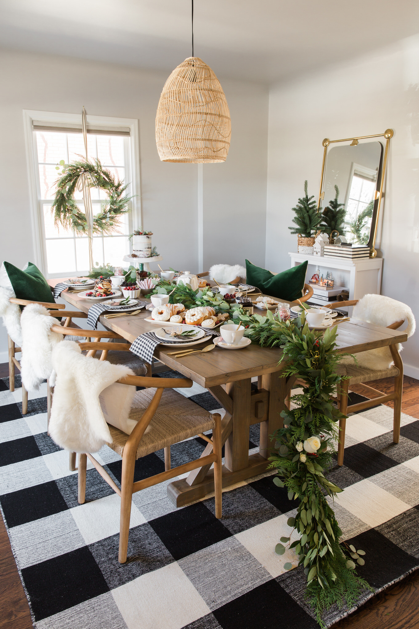 Holiday Brunch In Our New Home Hello Fashion