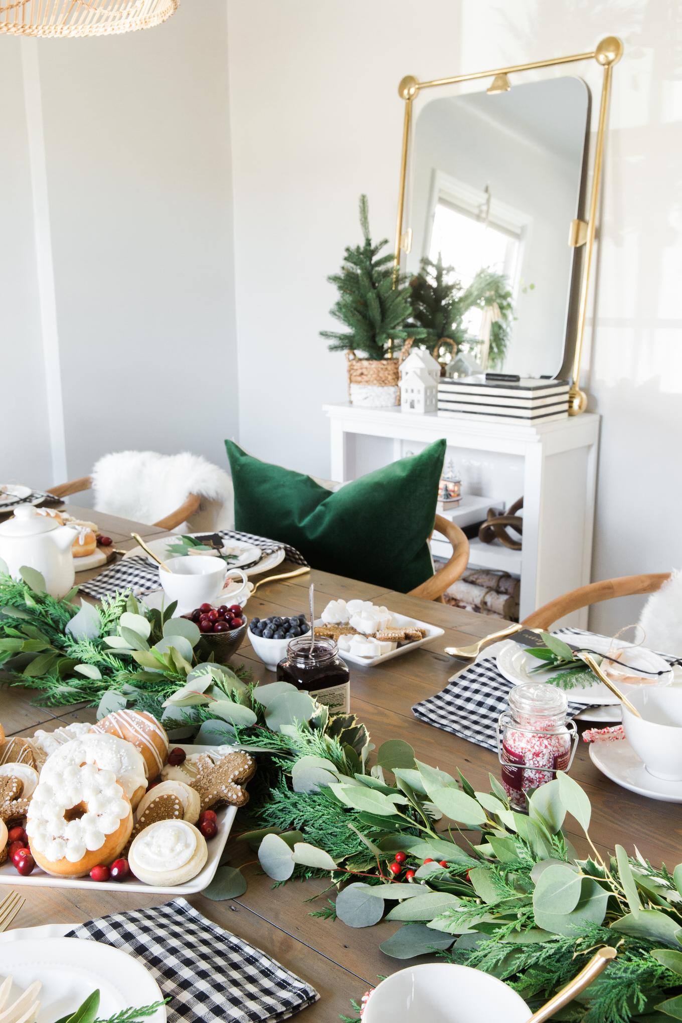 holiday dining room