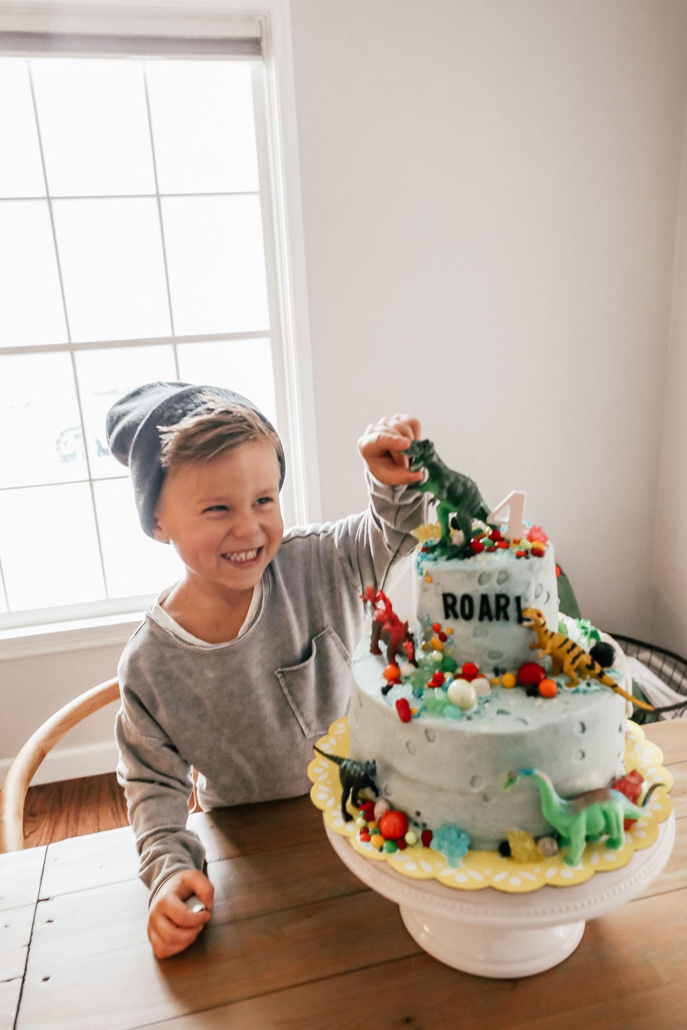 Dinosaur Birthday Cake Hello Fashion blog