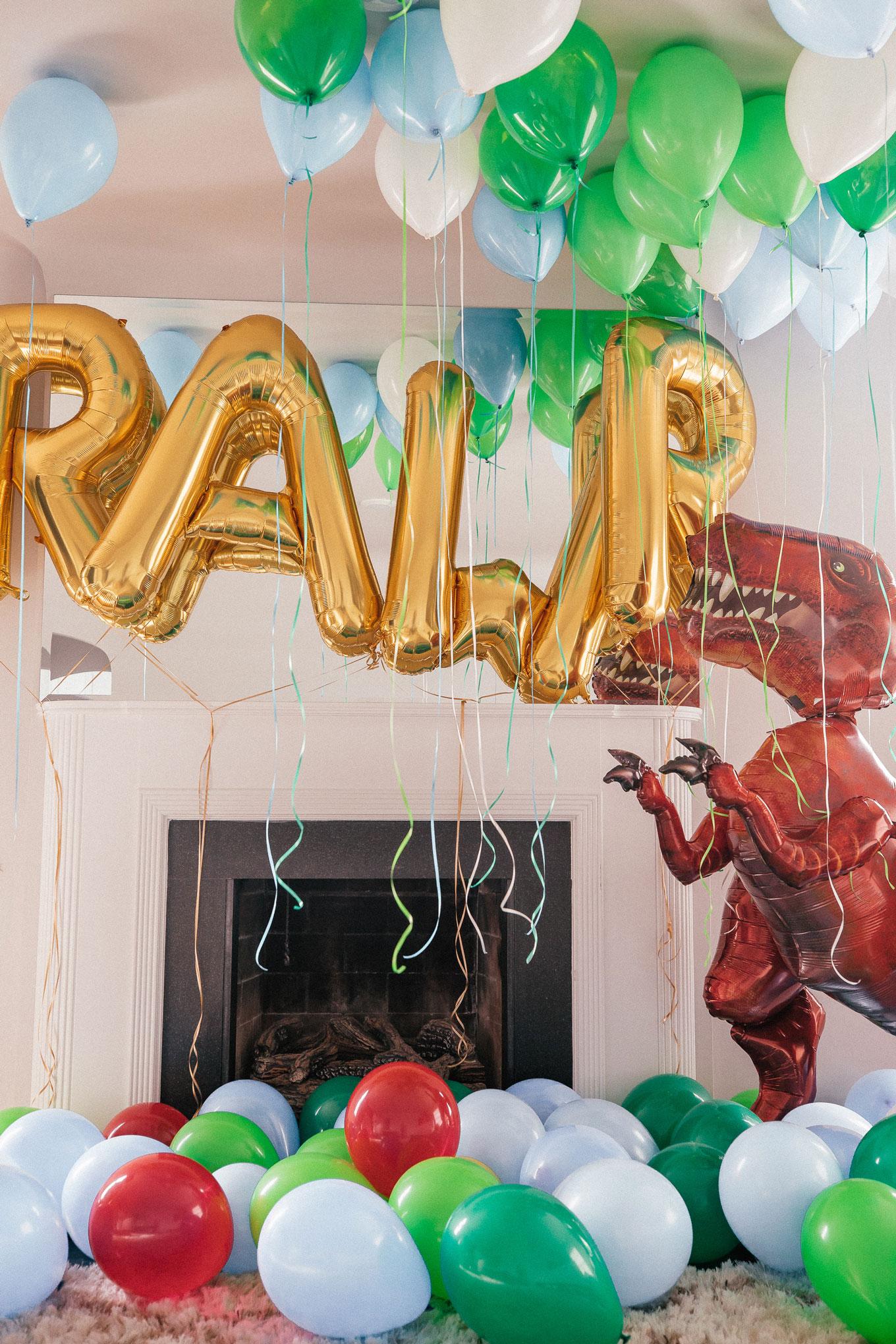 Dinosaur Party Hello fashion blog