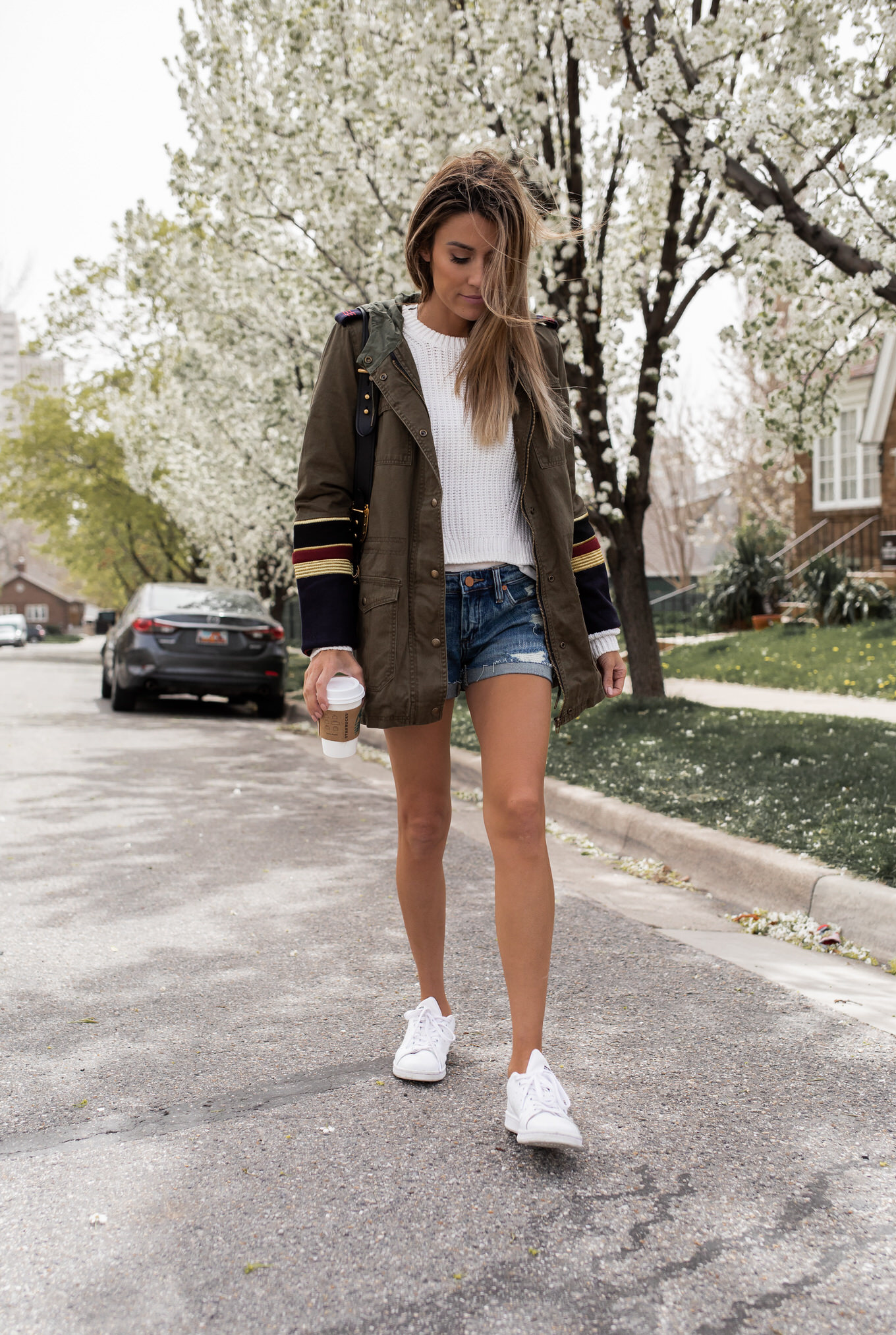 Two Casual Neutral Spring Looks  Hello Fashion
