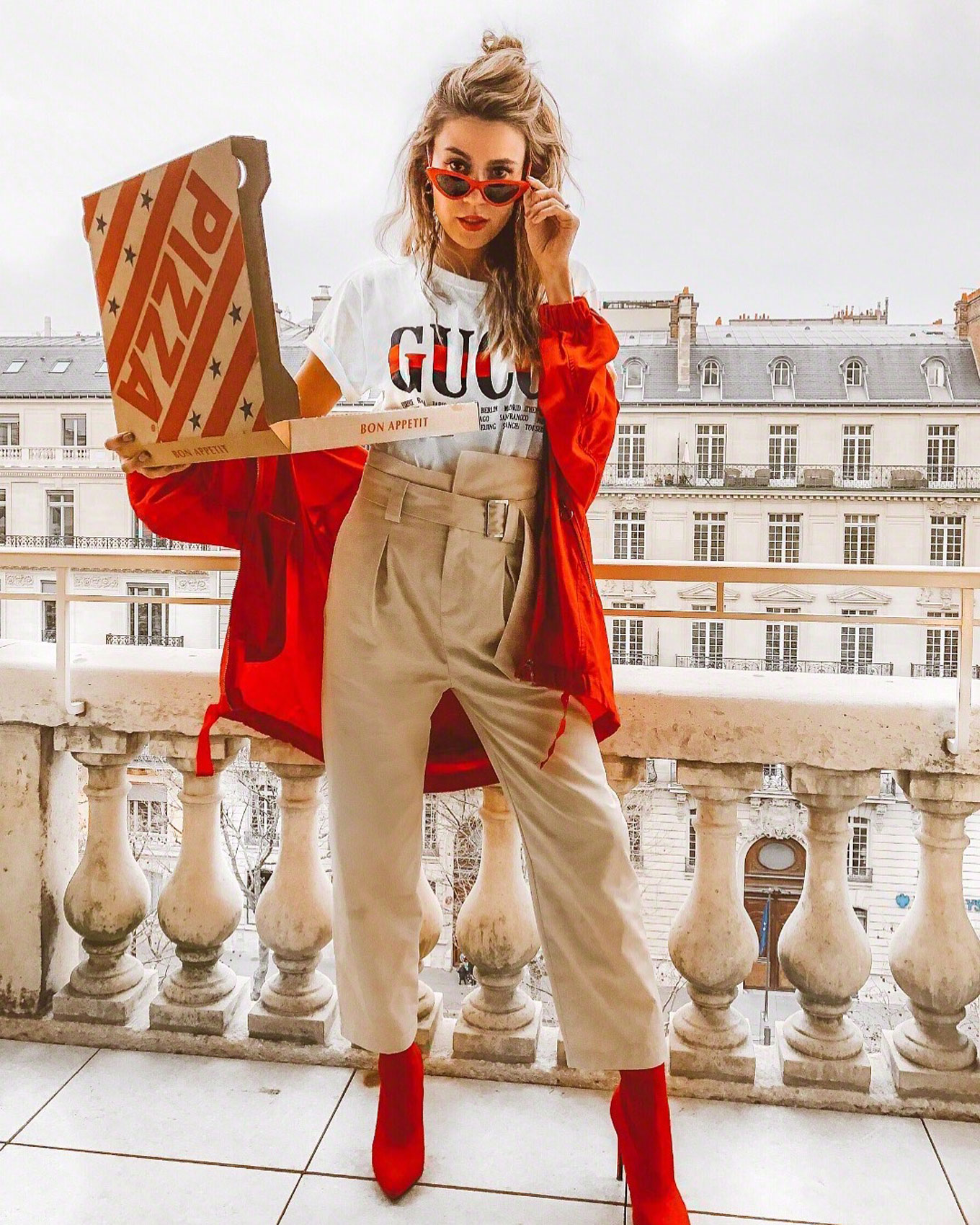752aeef630e Pizza and GucciTwo Ways to Wear My Favorite Gucci Tee
