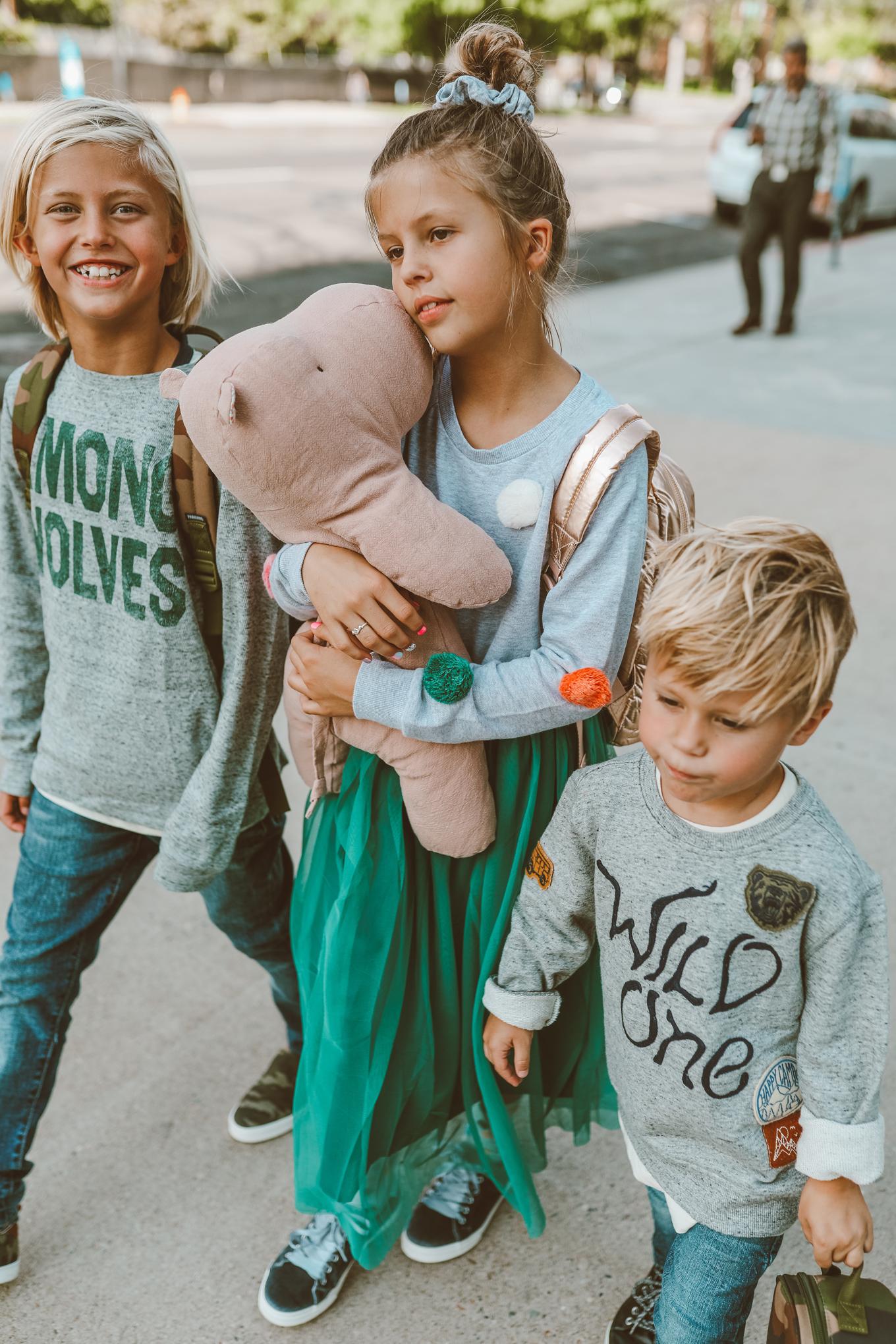 stylish siblings
