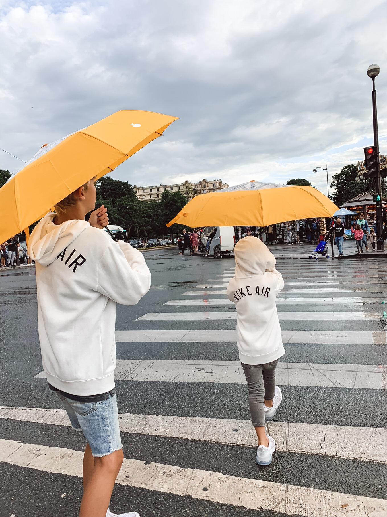 paris rain storm