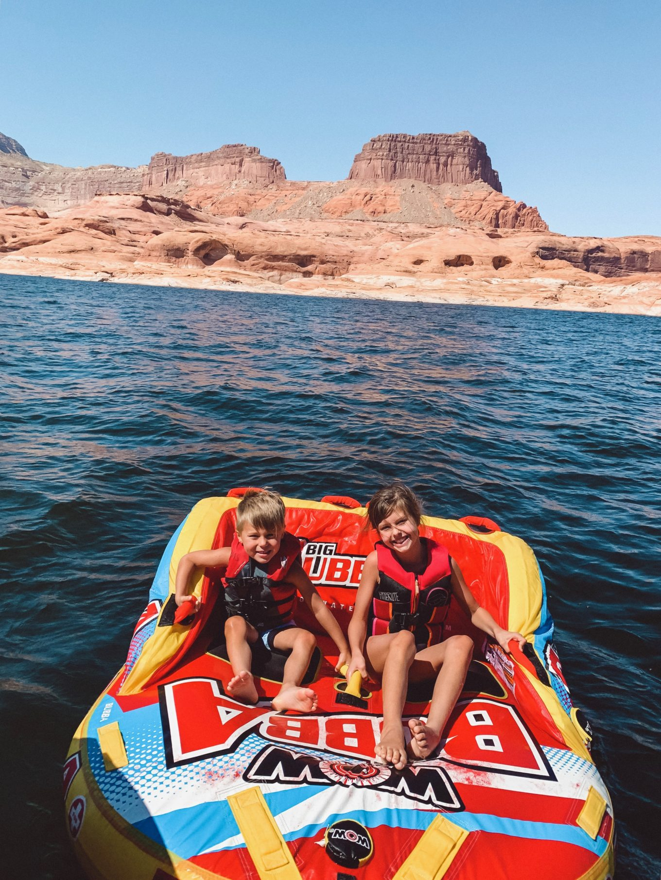 tubing in lake powell