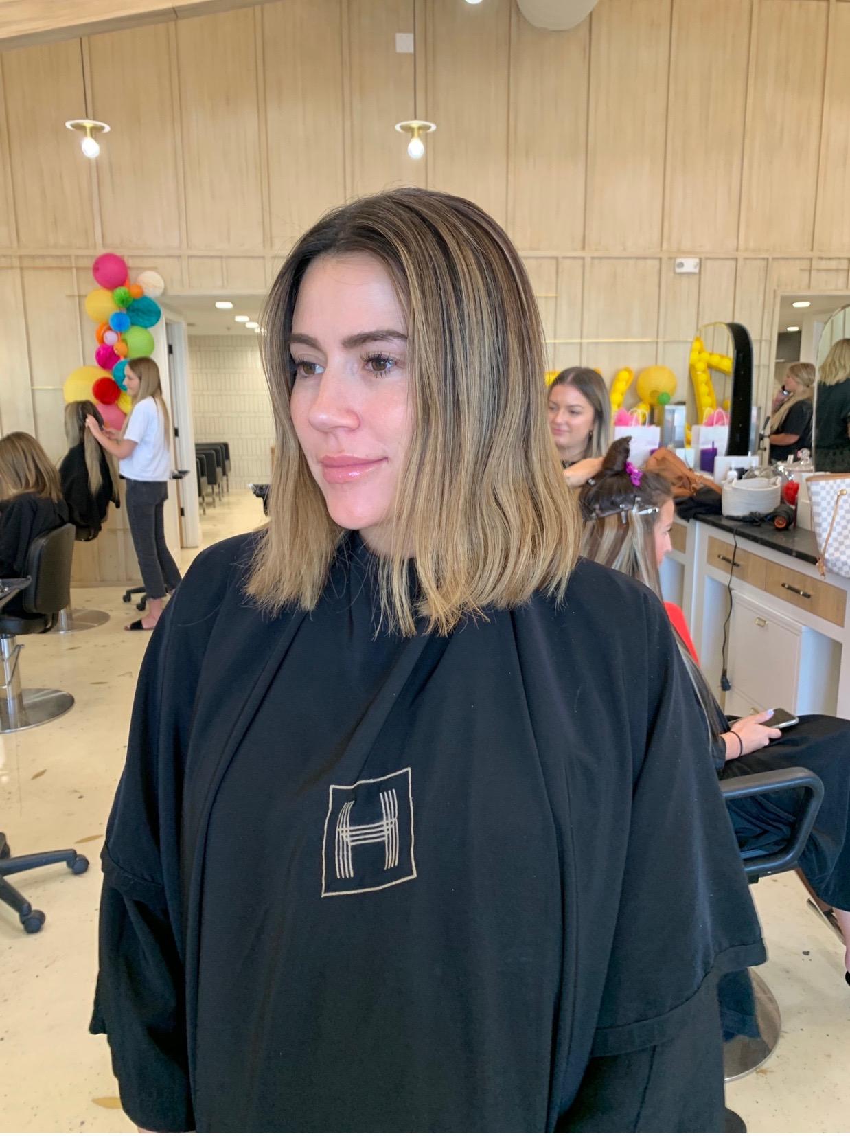 christine andrew hair cut