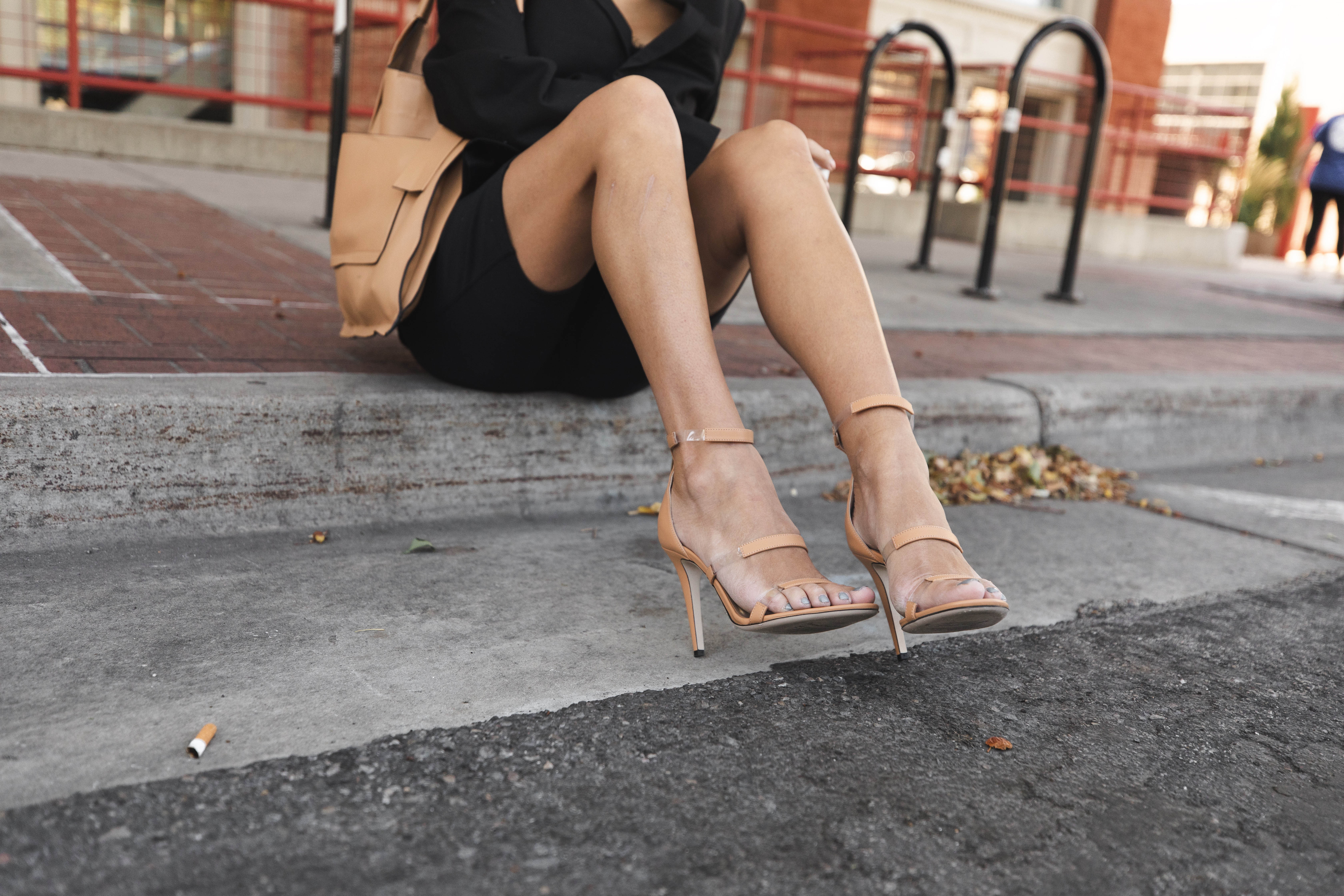 classic nude sandals hello fashion blog