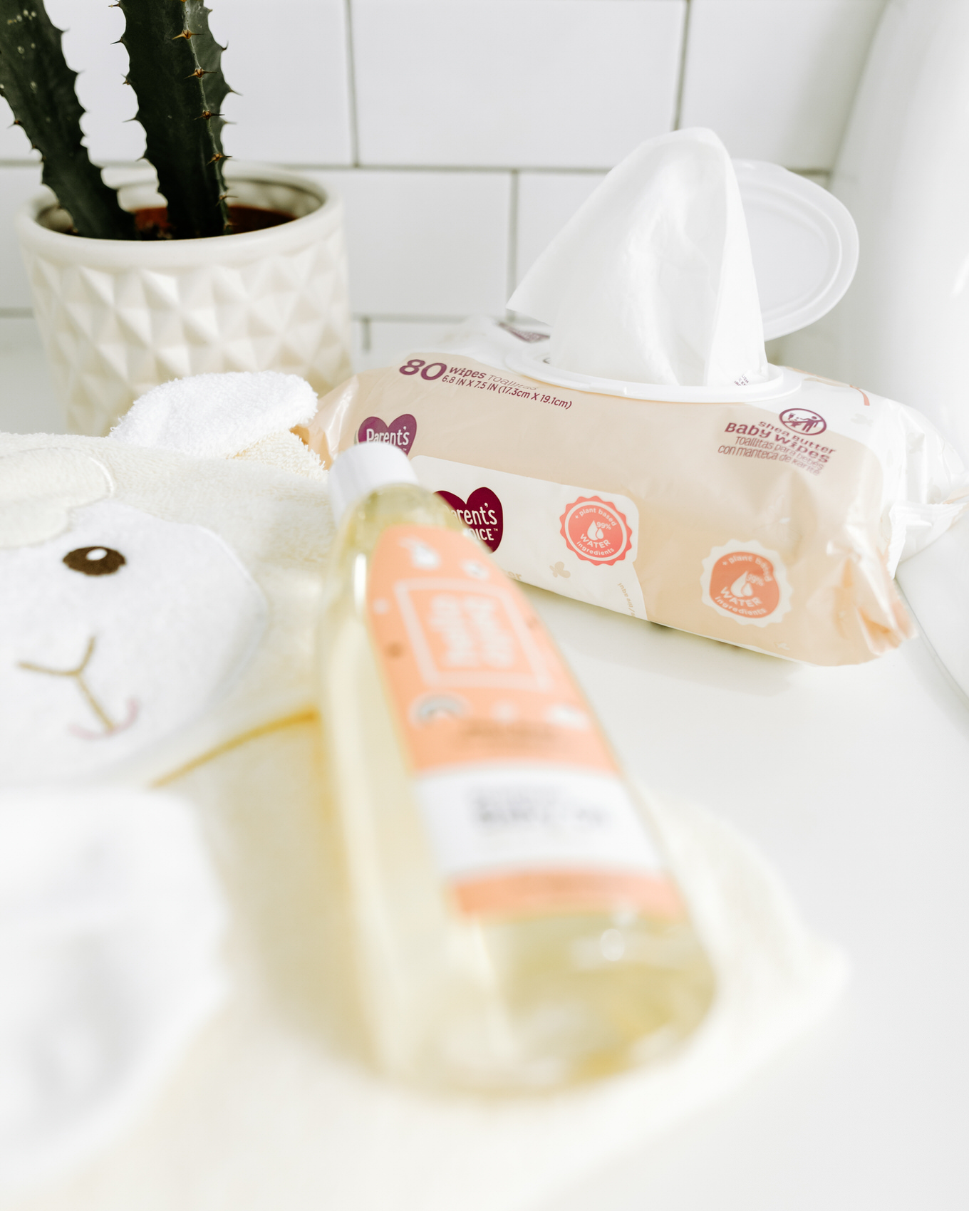 baby bath time products