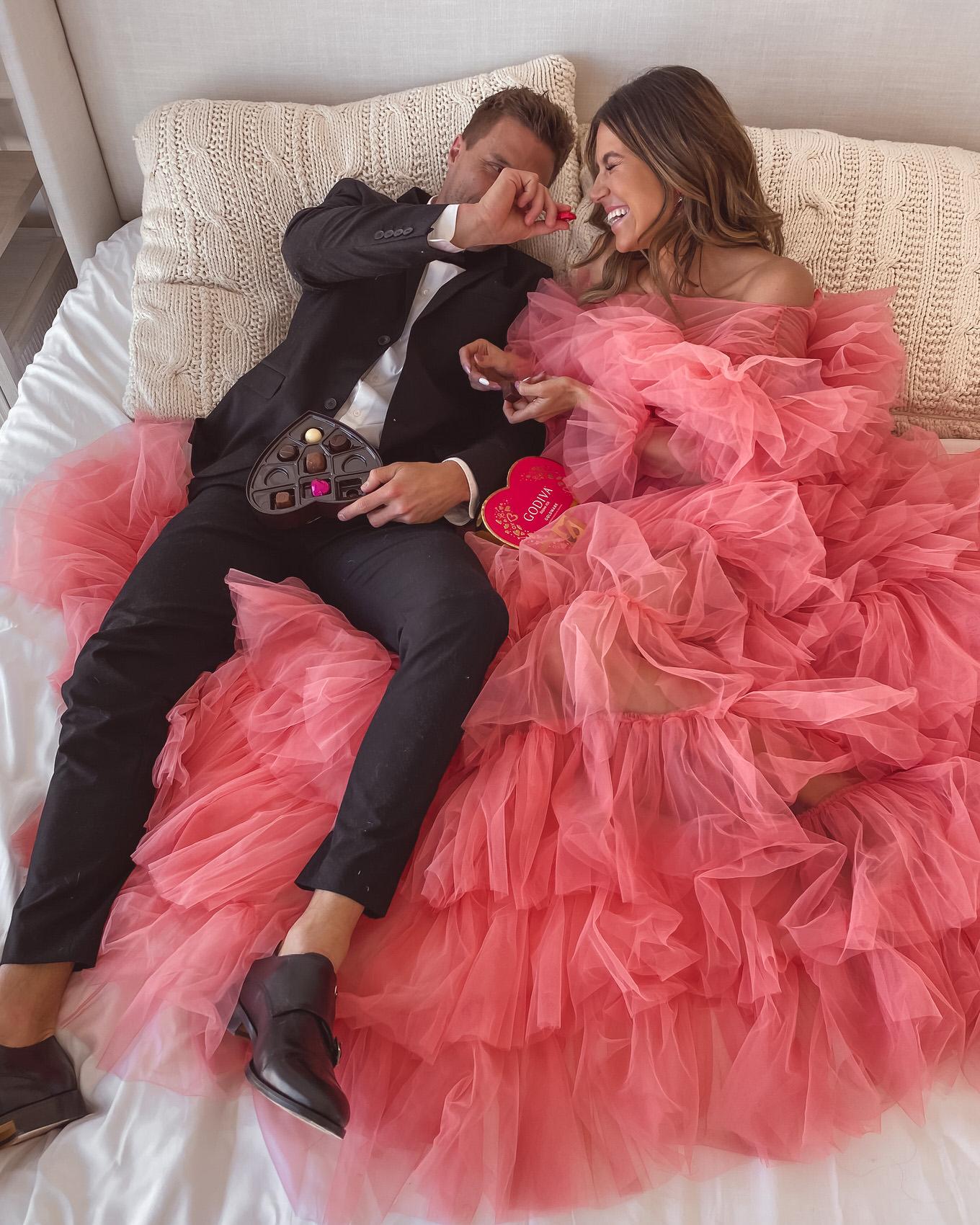 pink dress hello fashion valentine's gift ideas