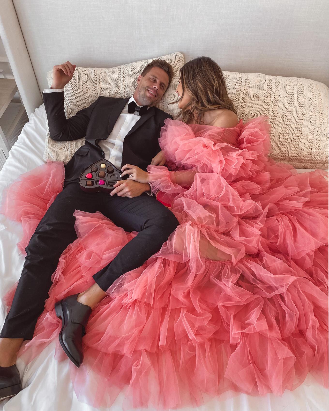 pink tulle dress hello fashion