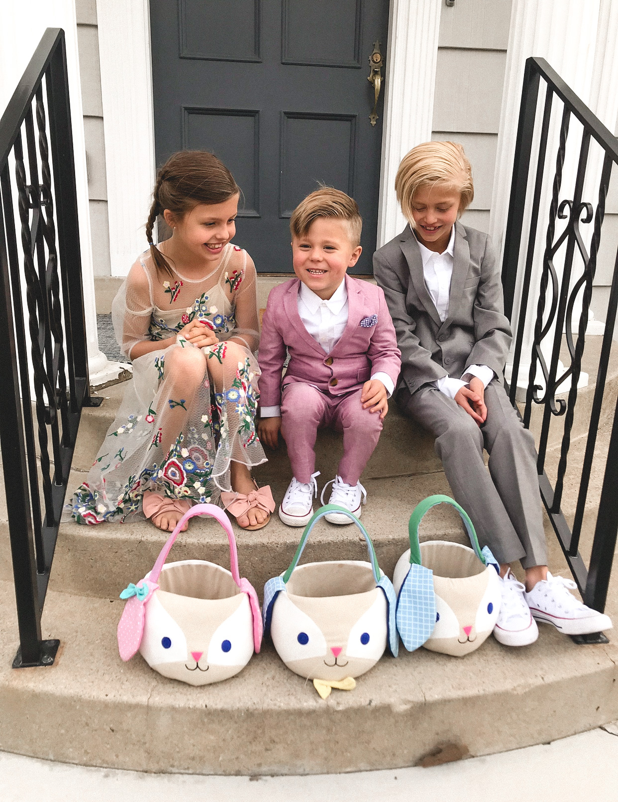 easter basket inspo from baby to teenager