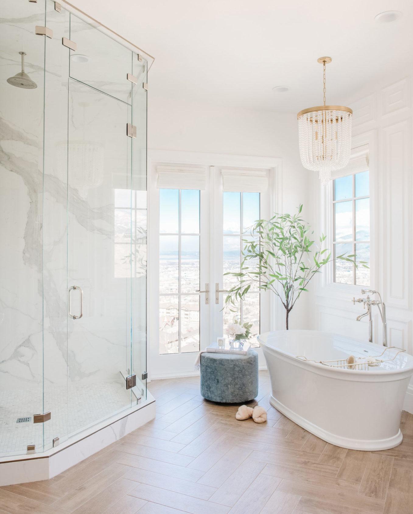master bathroom inspo Christine Andrew