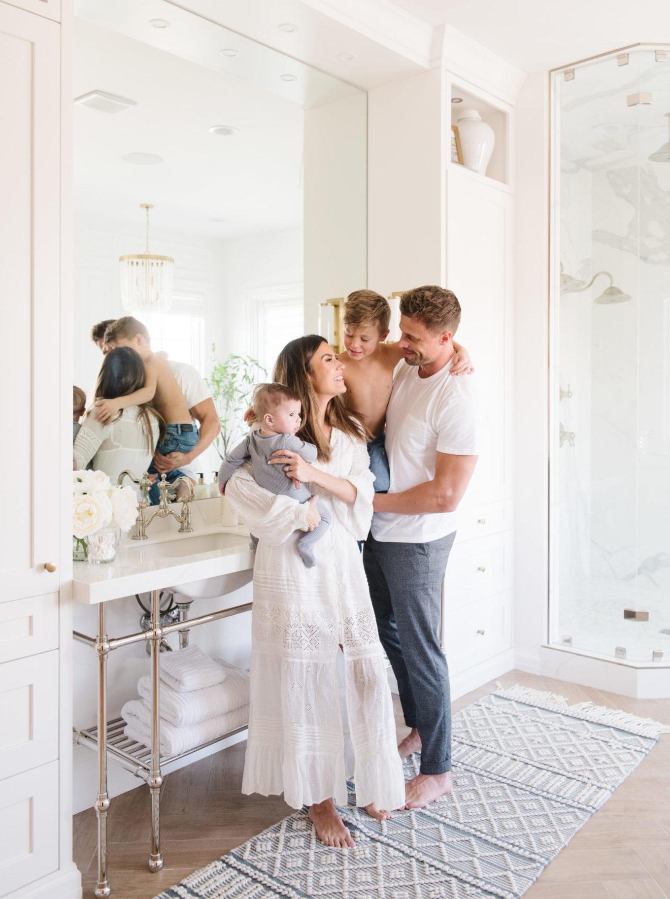 hello fashion blog family christine and Cody Andrew