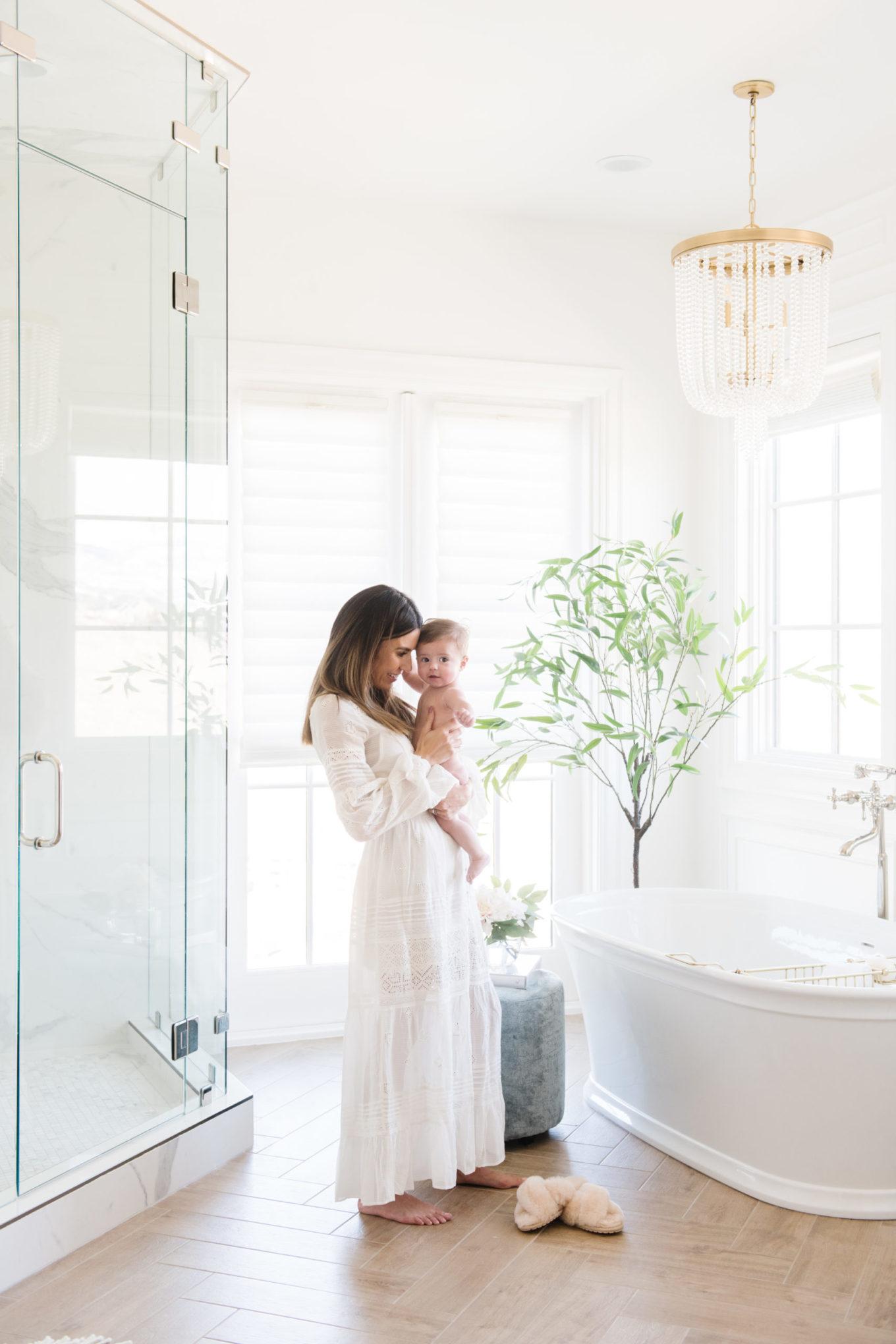 bright bath interior
