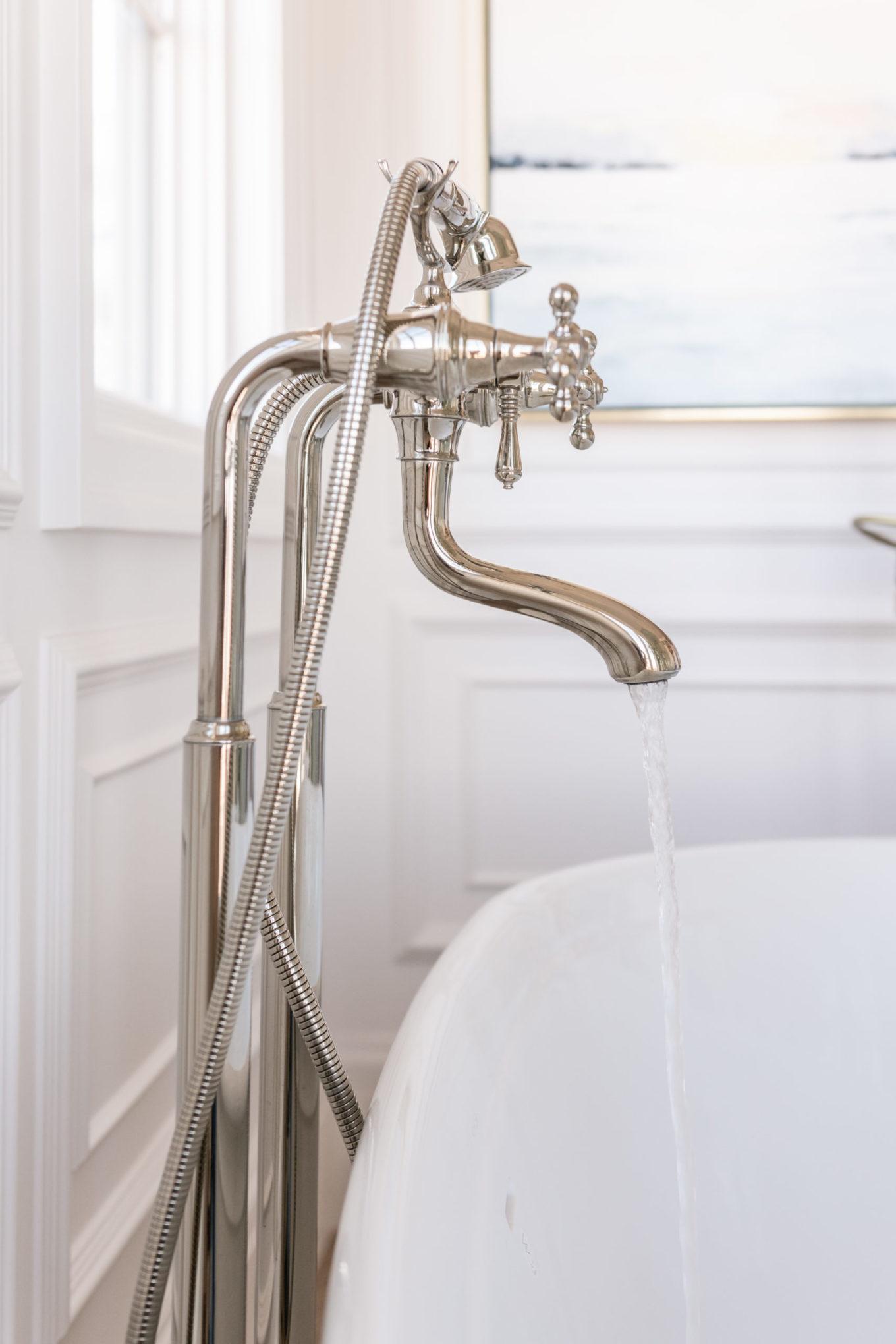 bathroom tub faucet