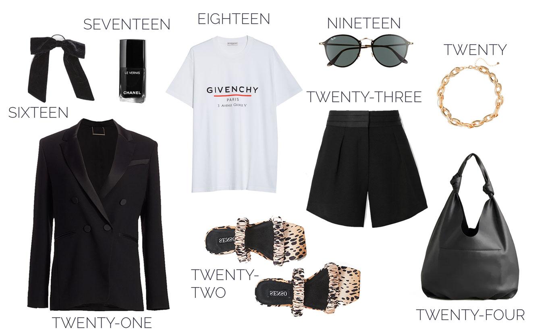 black shorts trend