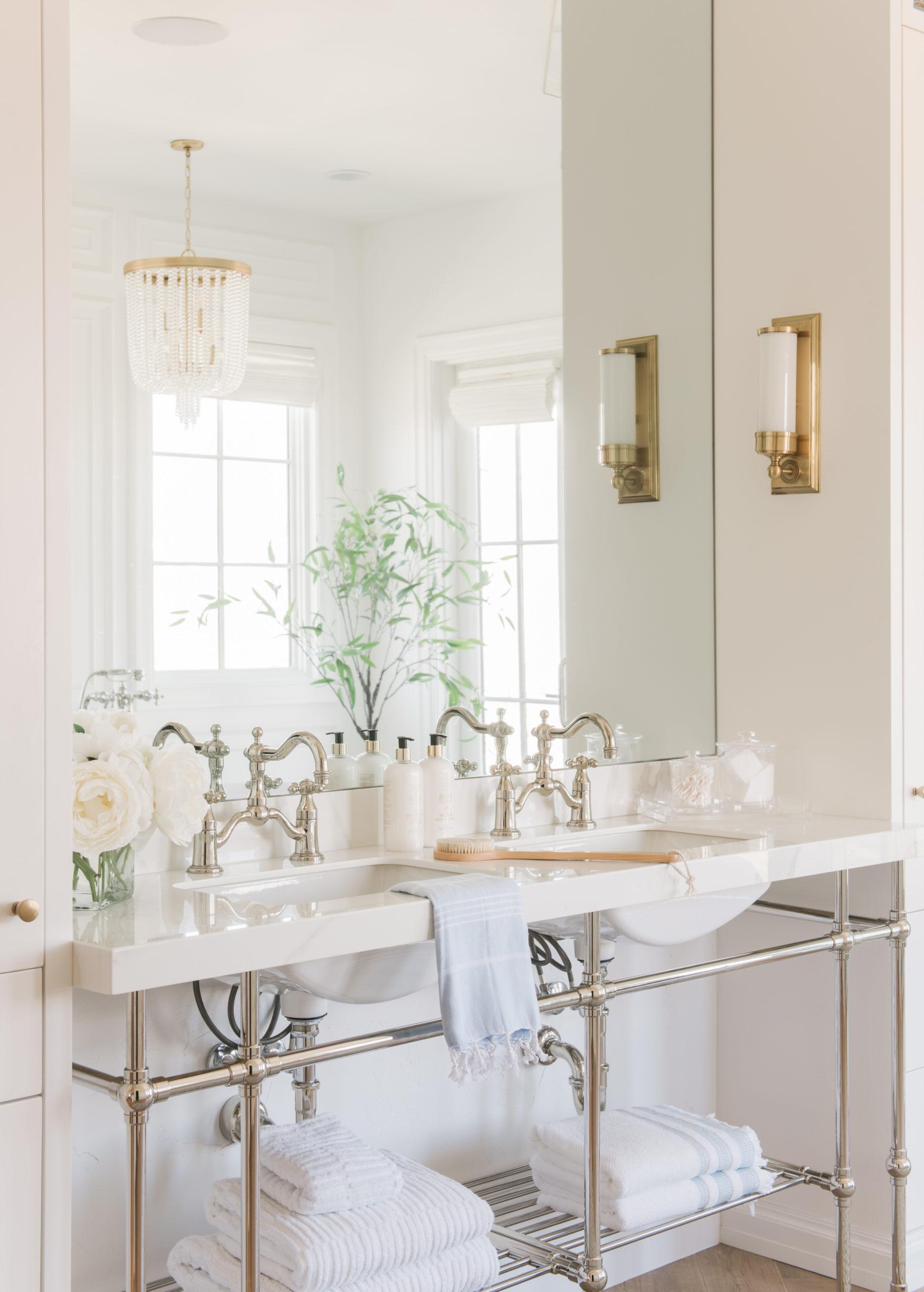 luxury home master bathroom Christine Andrew