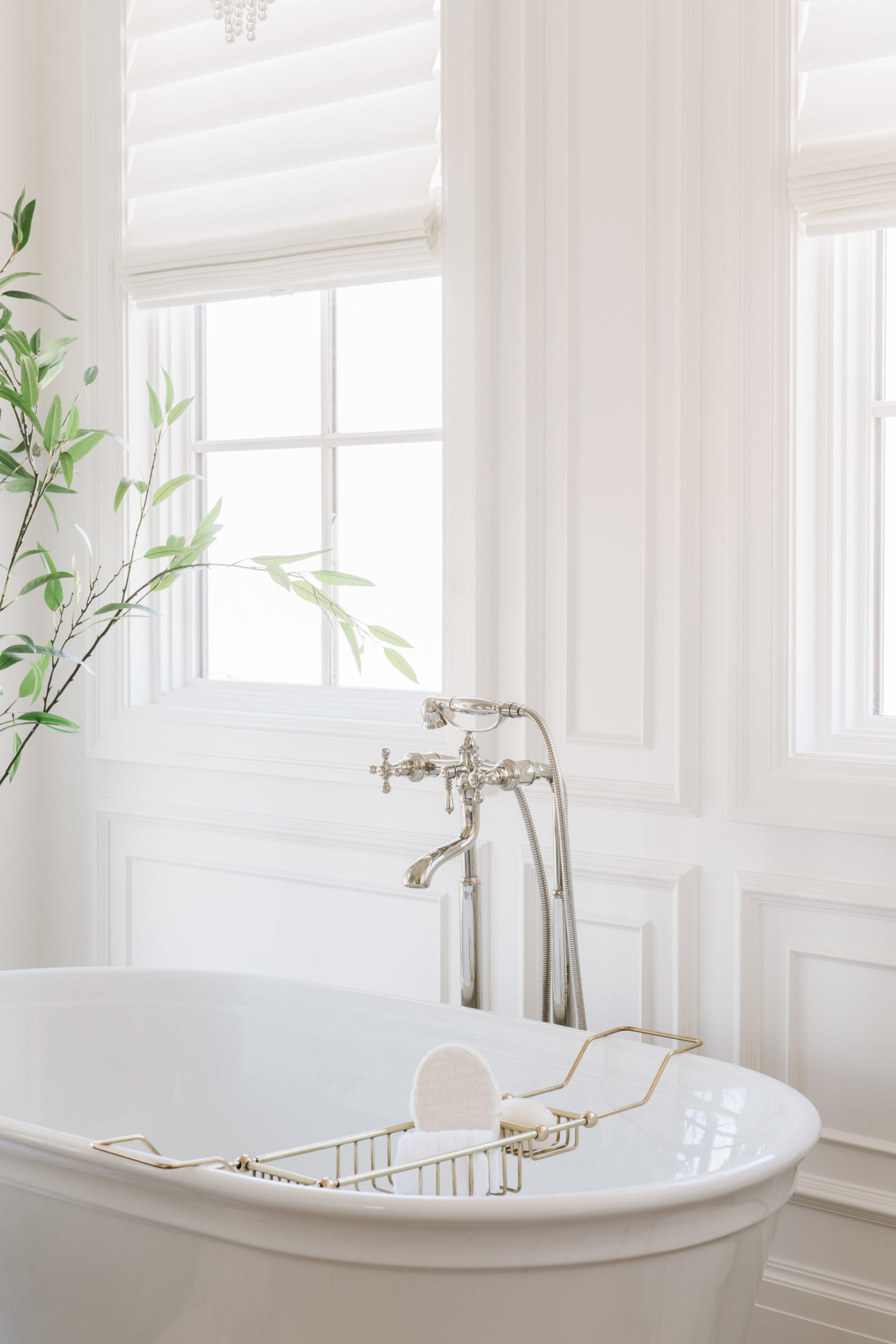 Christine Andrew master bathroom large tub