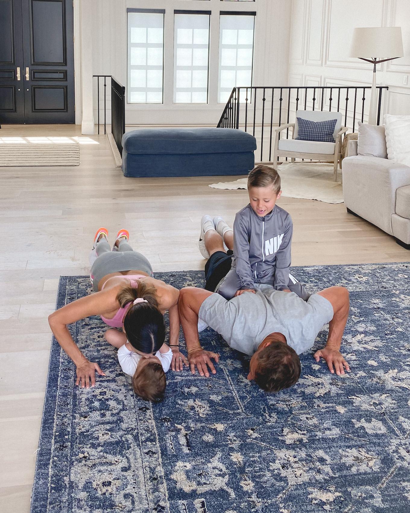 home workout ideas