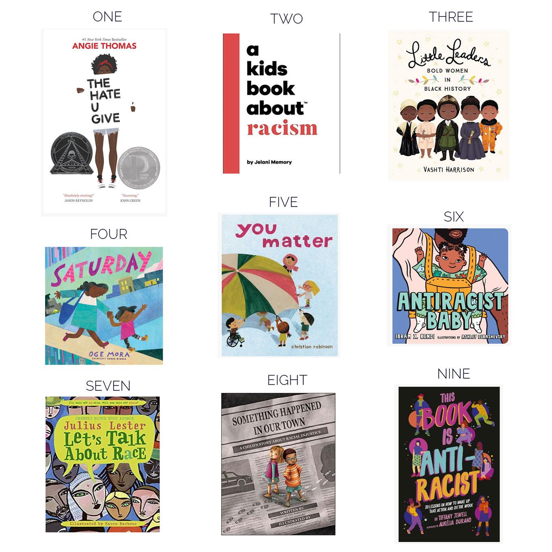 anti racism kids books
