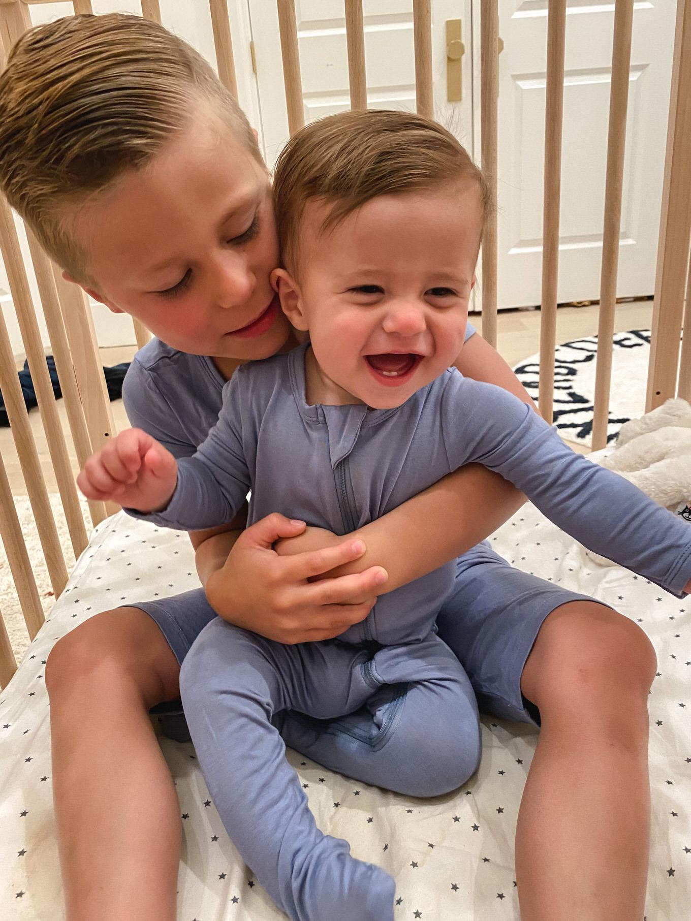 matching baby and toddler pajamas