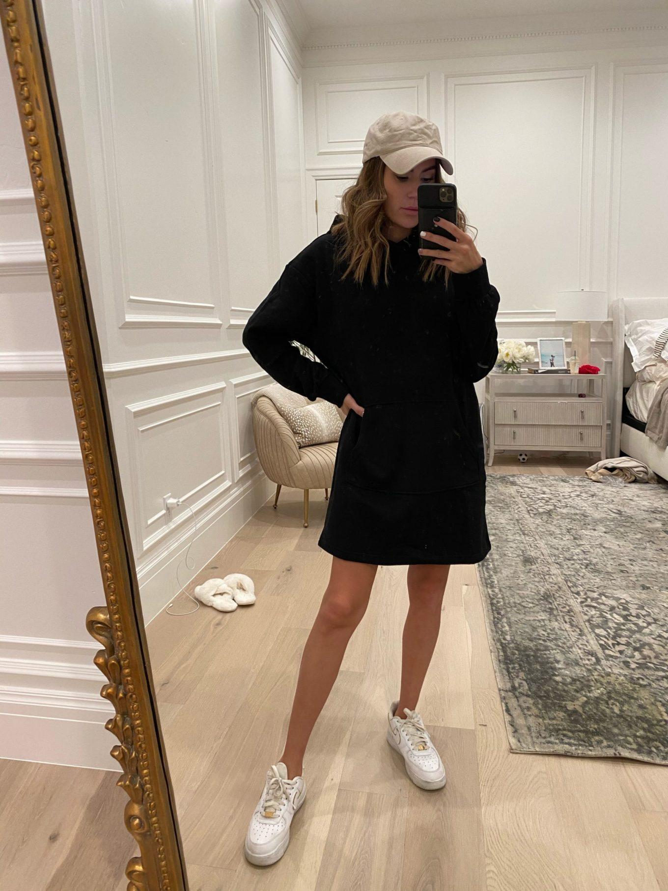 hoodie dress