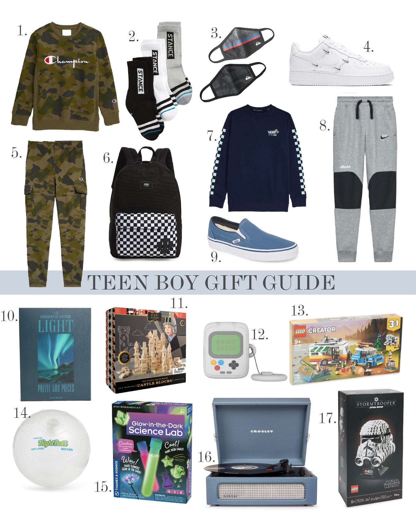 teen boy gift ideas