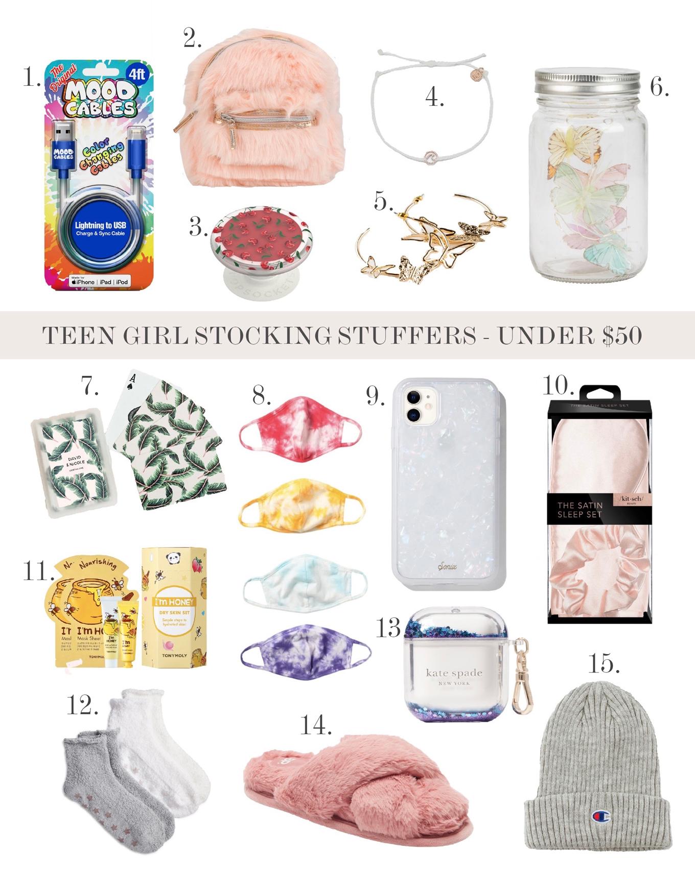 teen girl stocking stuffers