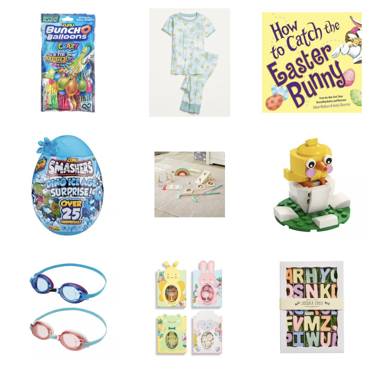 boy easter basket ideas