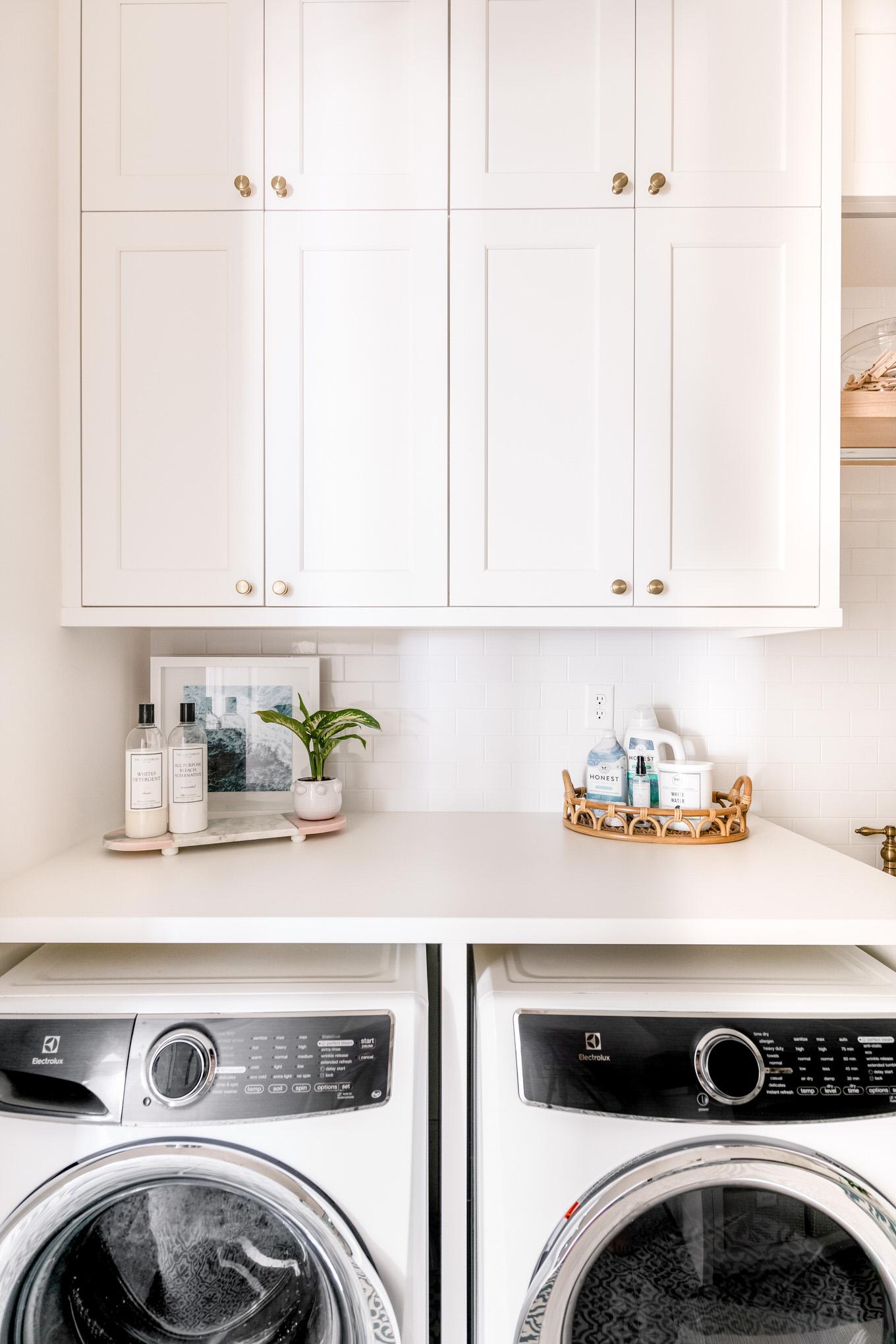laundry detergent organization