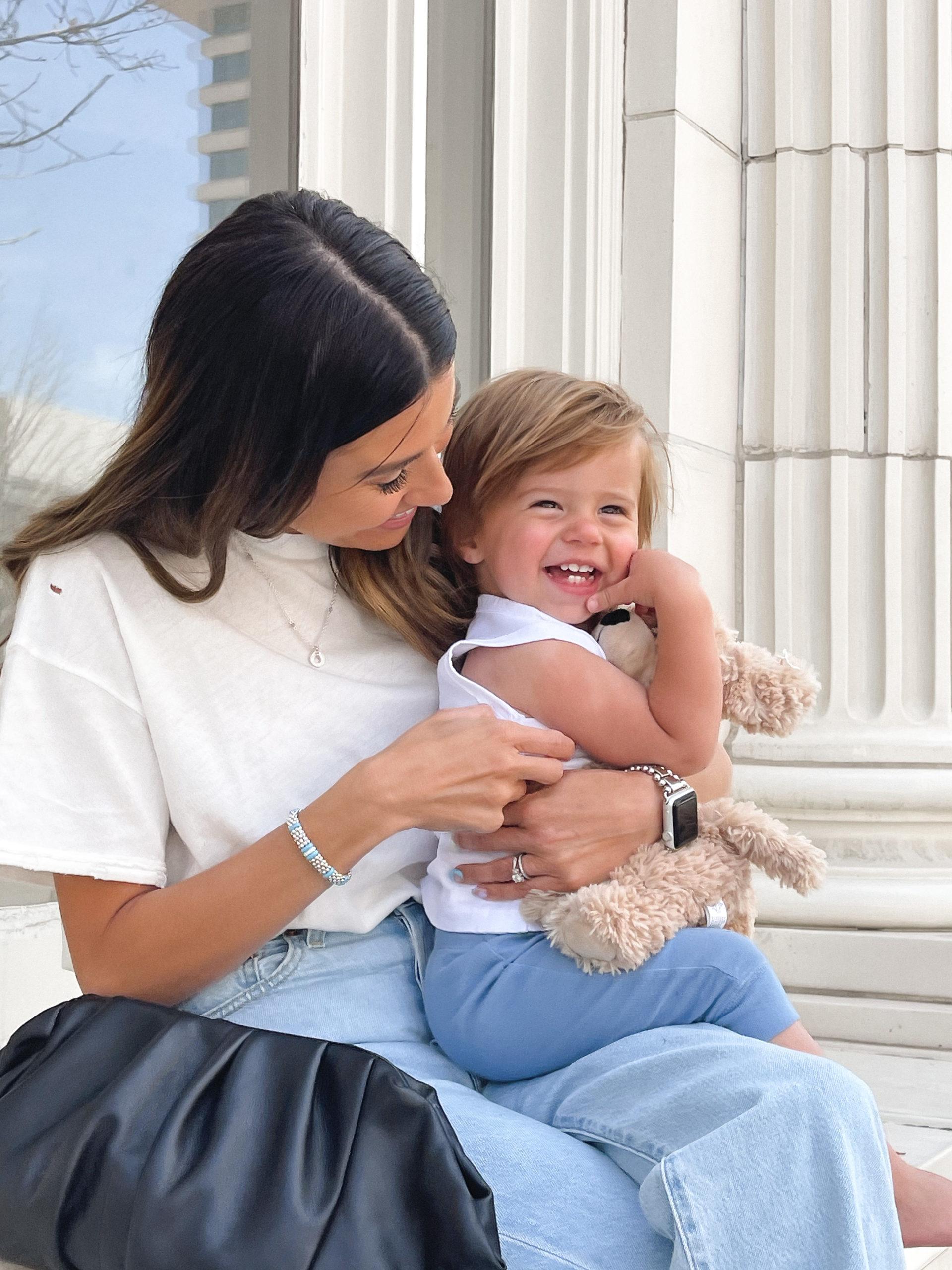 Christine Andrew baby ollie