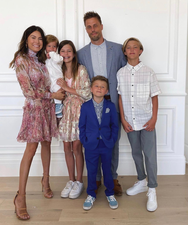 Christine Andrew family step mom