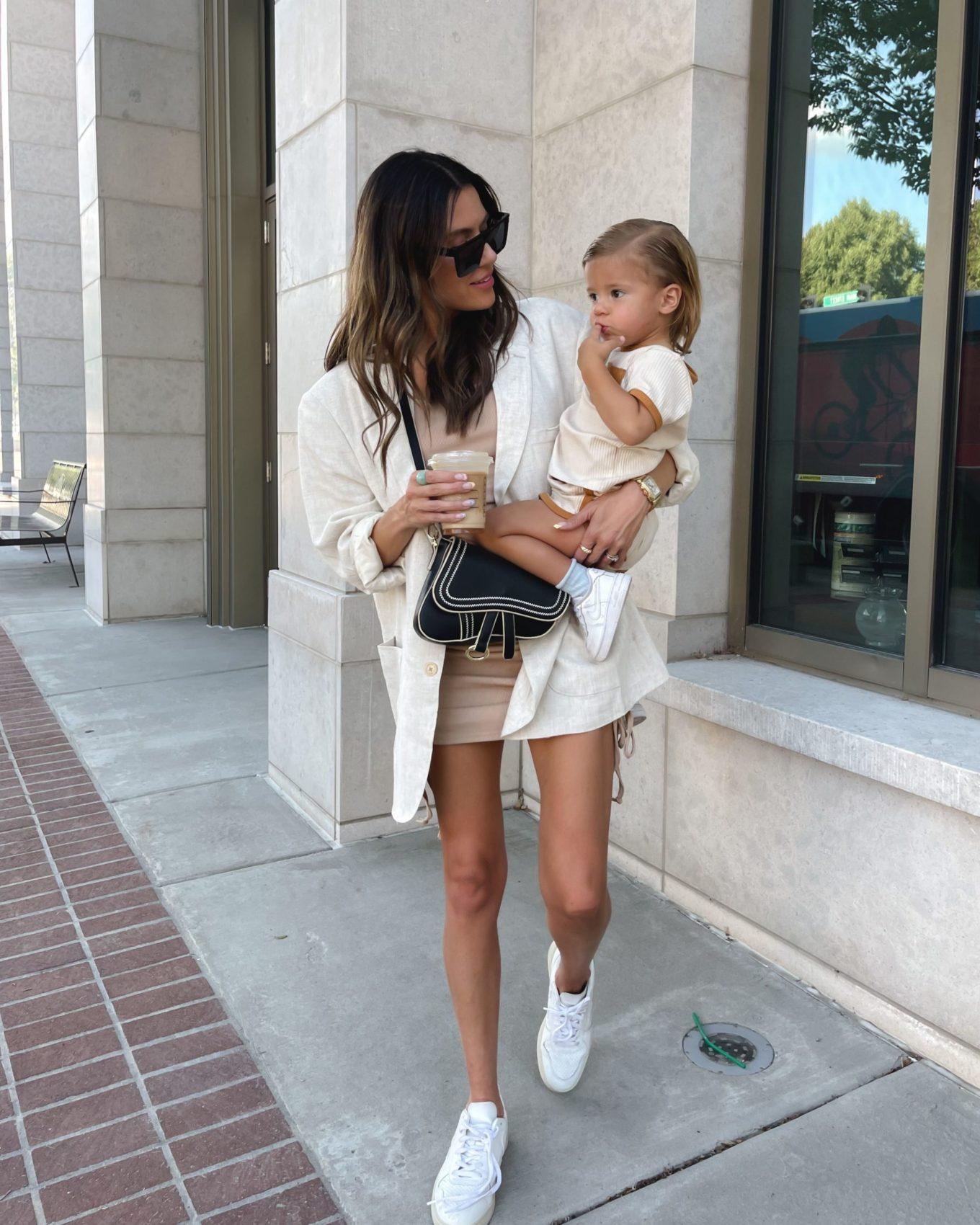 amazon, blazer, dress, saddle bag, toddler outfits