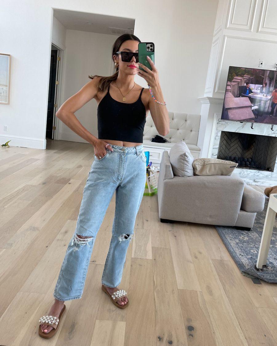 July best-seller, jeans