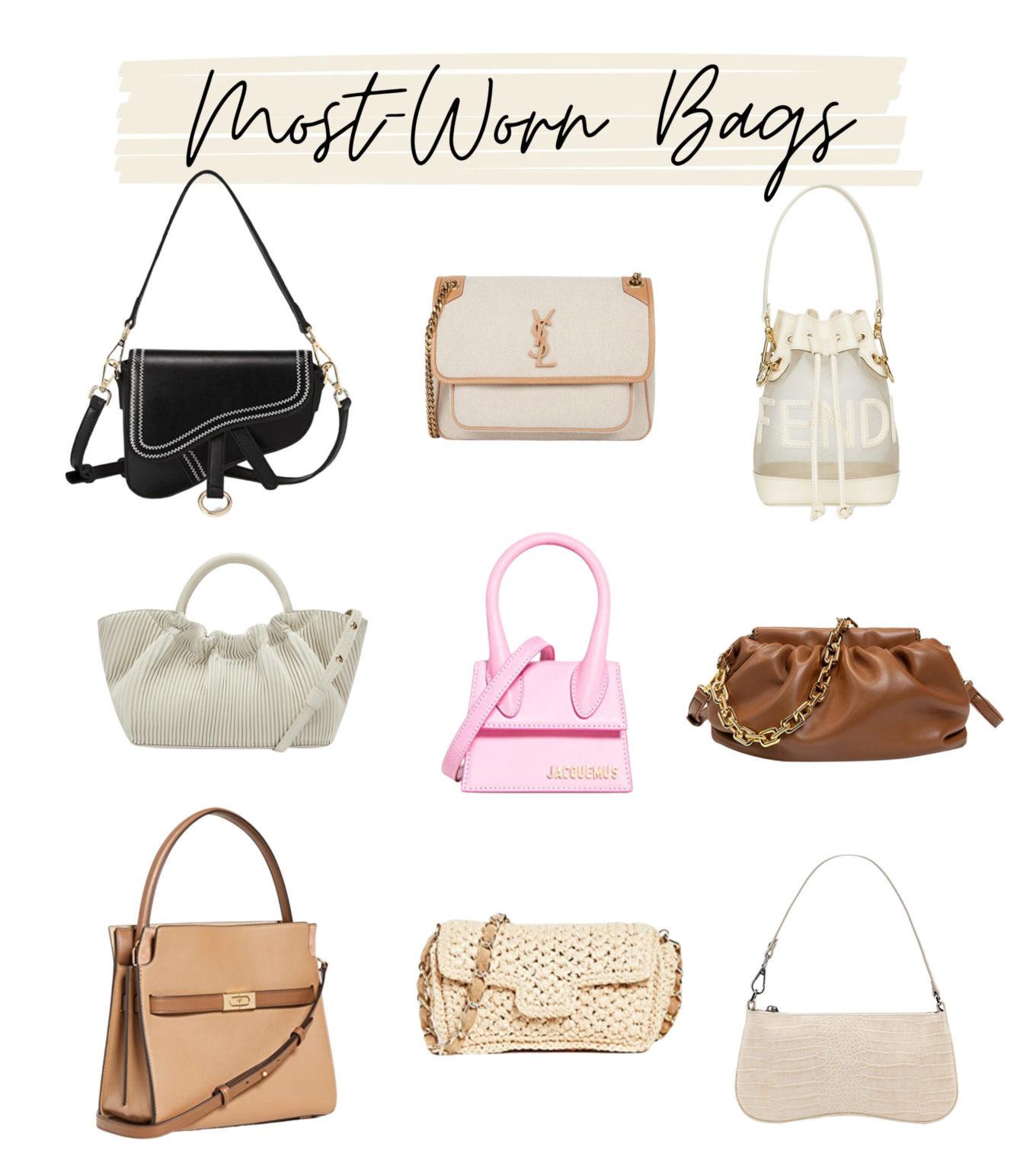 most-worn handbags, amazon bags